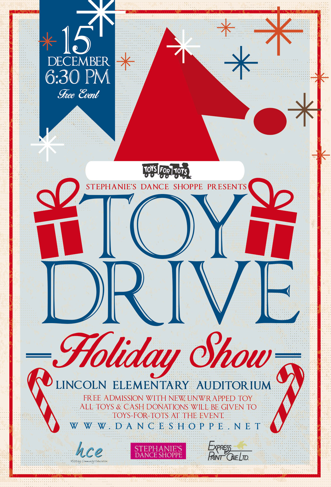 Toys For Tots Show Order